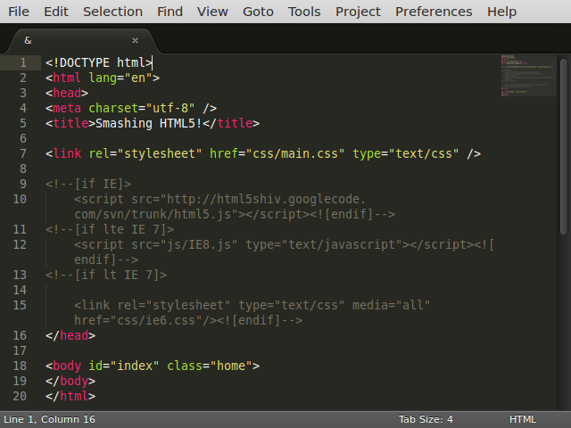 Five Text Editors For Programmers - Available For Ubuntu 14 And Derivatives