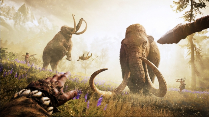 Far Cry Primal Mammoth Hunt wallpaper