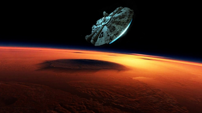 Star Wars Force Awakens Action Adventure Spaceship wallpaper