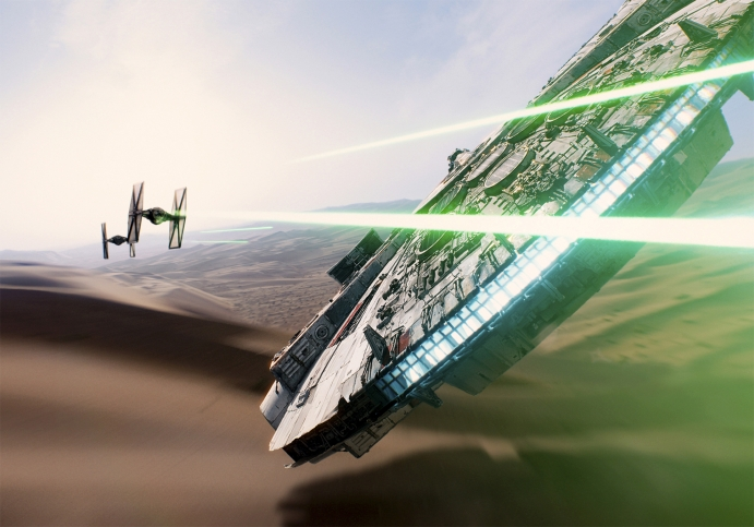 Star Wars Episode VII - The Force Awakens HD wallpaper